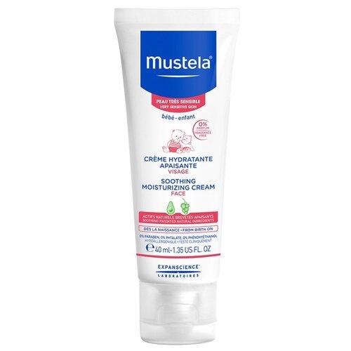 Mustela Крем для лица увлажняющий успокаивающий 40 млУход за кожей<br>