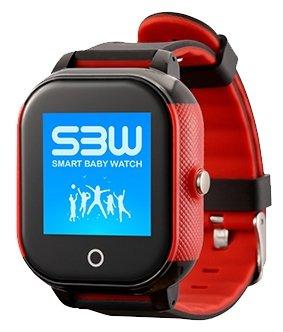 Часы Smart Baby Watch SBW WS черно-красный