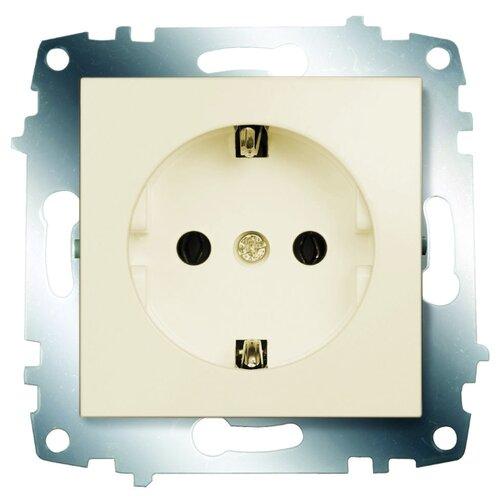 Розетка ABB Cosmo 619-010300-217 10А, с заземлением, слоновая костьРозетки, выключатели и рамки<br>