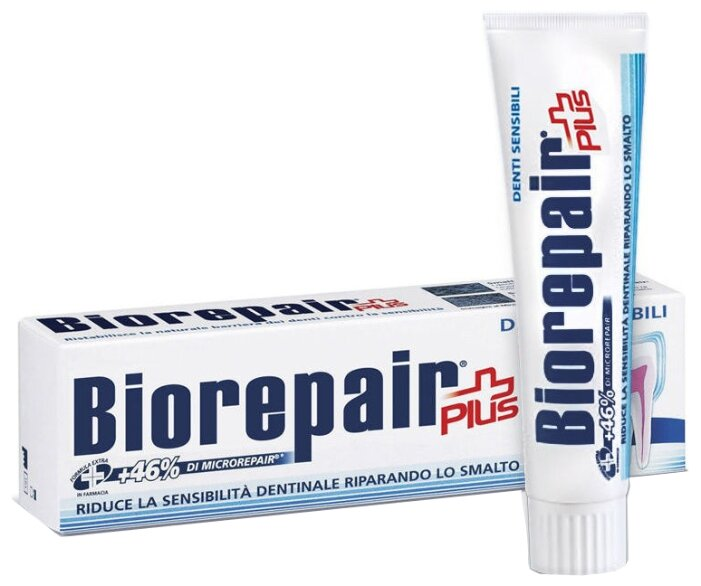 Зубная паста Biorepair Sensitive Teeth Plus