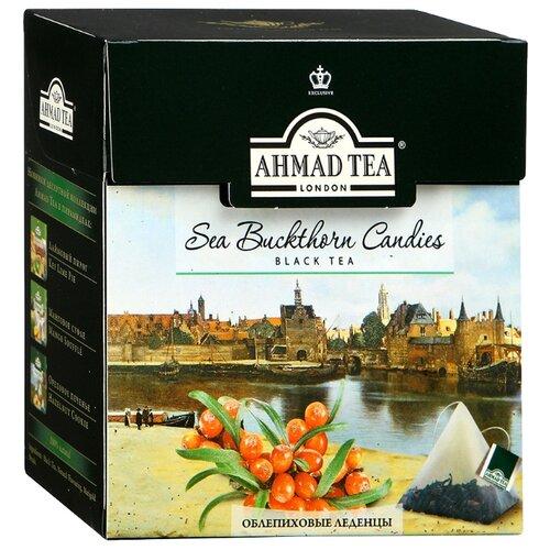 Фото - Чай черный Ahmad tea Sea buckthorn candies в пирамидках, 20 шт. candies candies