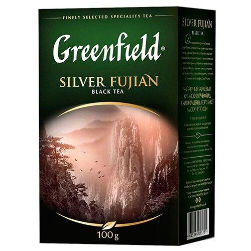 Чай черный Greenfield Silver Fujian, 100 г greenfield english edition черный листовой чай 100 г