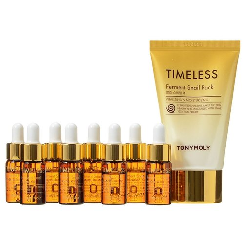 Набор TONY MOLY Timeless ferment snail ampoule пудра cats wink clear pact tony moly