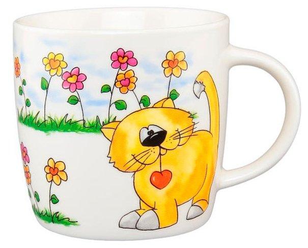 Elan gallery Кружка Оранжевый кот