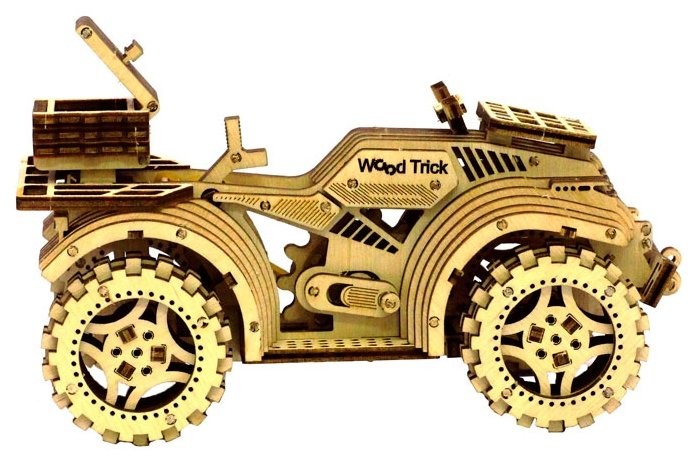 Сборная модель Wood Trick Квадроцикл (1234-6),,