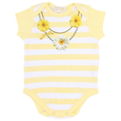 Боди Linas Baby размер 62 (1-3), желтыйБоди<br>