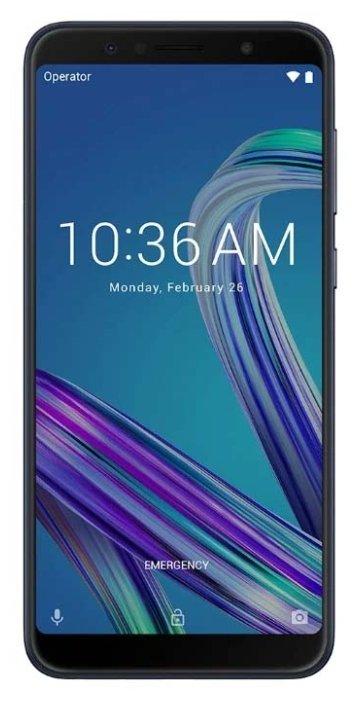 Смартфон Asus ZB602KL ZenFone Max Pro M1 128Gb 4Gb Silver