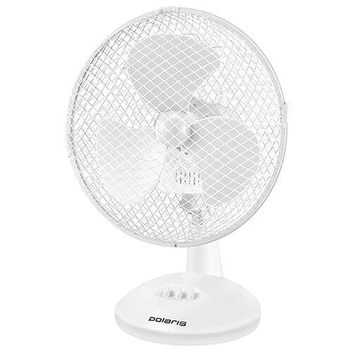 Настольный вентилятор Polaris PDF 1023G белый