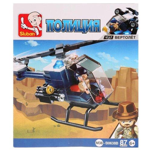 Купить Конструктор SLUBAN Полицейский спецназ M38-B0638B, Конструкторы