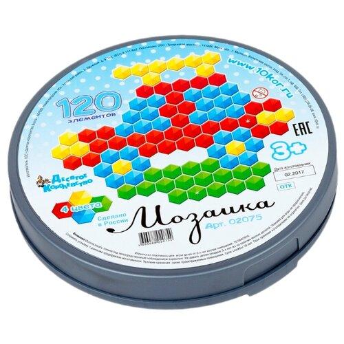 Десятое королевство Мозаика круглая шестигранная 120 элементов (02075) десятое королевство мозаика 120 элементов 00965