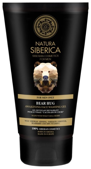 Natura Siberica Гель для умывания пробуждающий Медвежья хватка