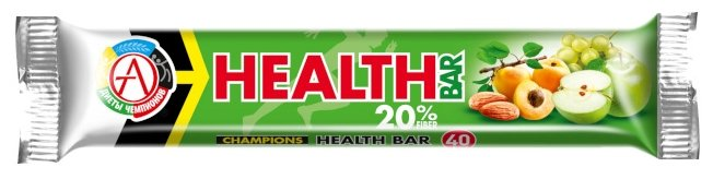 Академия-Т энергетический батончик Champions Health Bar (40 г)(1 шт.)