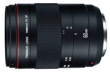 Объектив YongNuo 60mm f/2 Macro Canon EF