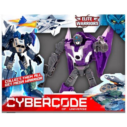 Трансформер Cybercode Banshee фиолетовый/серый zormaer cybercode ironside intruder