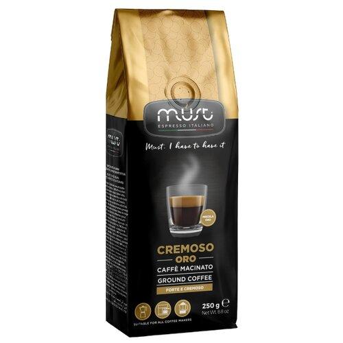 Кофе молотый Must Cremoso Oro 250 гМолотый кофе<br>