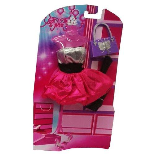 Фото - Карапуз Одежда для кукол София 29см 66243-7-S-BB розовый/серебристый одежда для кукол china б02