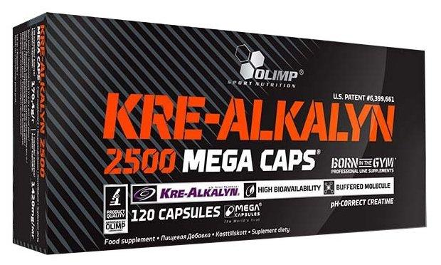 Креатин Olimp Kre-Alkalyn 2500 Mega Caps (120 шт.)