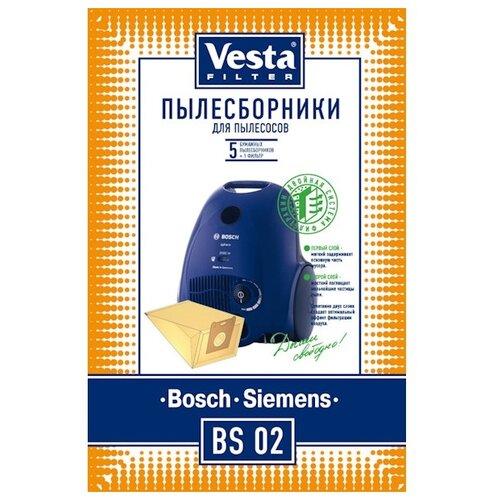 Vesta filter Бумажные пылесборники BS 02 5 шт.