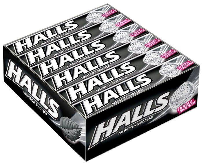 Леденцы Halls Ментол экстра 12 шт.
