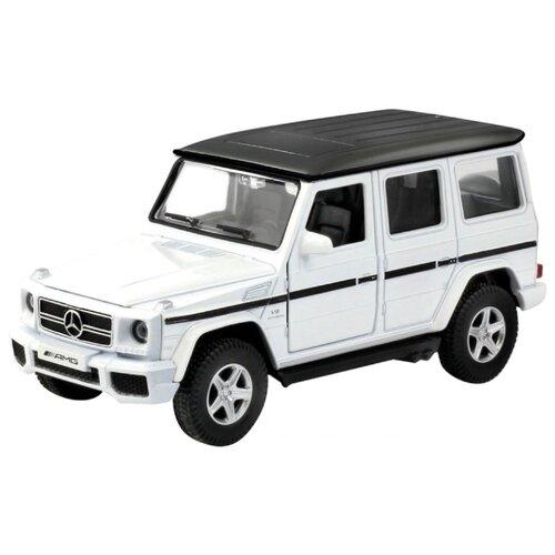 Купить Внедорожник Autotime (Autogrand) Mercedes-Benz G63 AMG 5 (49936) 1:32 13 см белый / черный, Машинки и техника