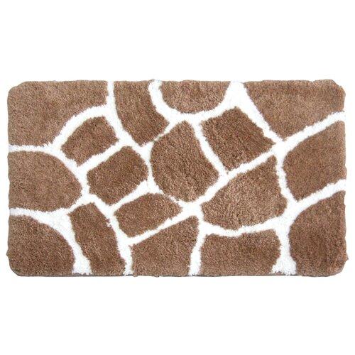 Коврик IDDIS 570M580i12, 50х80 см коричневый коврик для ванной iddis safari friends 50x80 см 570m580i12