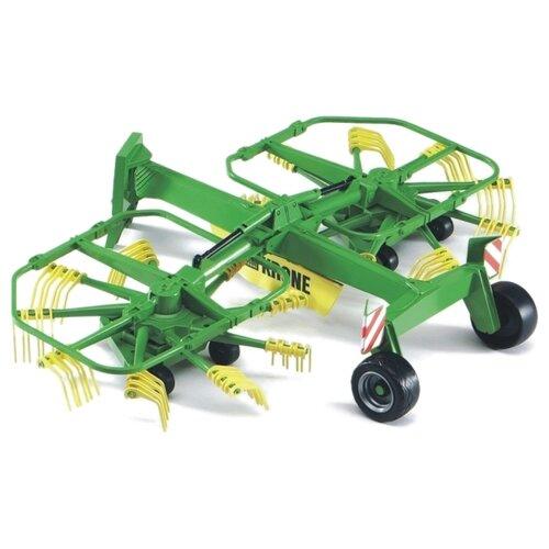 Купить Валкователь Bruder Двухроторный Krone 02216 зеленый, Комплектующие и аксессуары для машинок и радиоуправляемых моделей