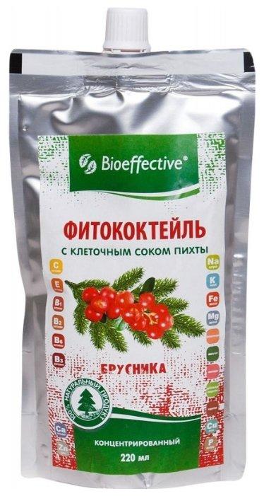 Bioeffective Фитококтейль брусника с клеточным соком пихты