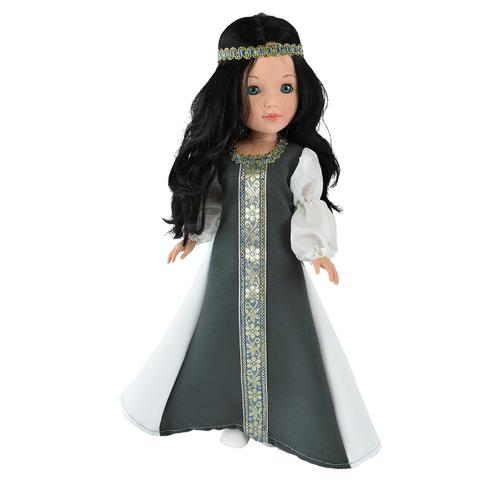 Кукла Vidal Rojas Пепа черноволосая в национальном платье (в подарочной коробке), 41 см, 4516 цена 2017