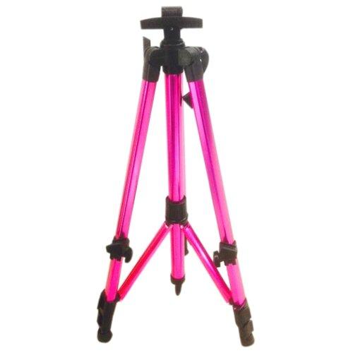 Мольберт Color Kit тренога металлический с ручкой (MMC) розовый