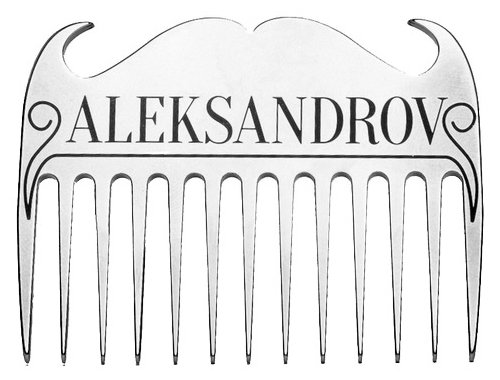 Расческа для бороды ALEKSANDROV COMB 01