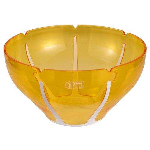 GIPFEL Салатница с двойными стенками Amadeus 26 см белый/желтый салатница с двойными стенками amadeus 16 3х16 3х8 см зеленая 9441 gipfel