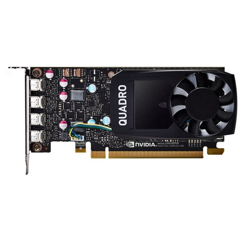Видеокарта PNY Quadro P620 2GB (VCQP620V2) Retail