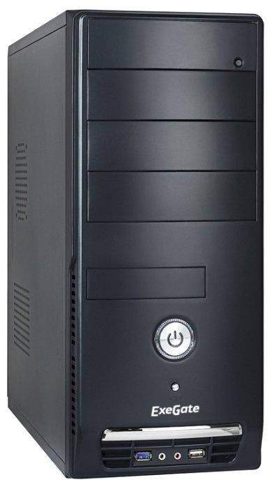 ExeGate Компьютерный корпус ExeGate CP-501U 450W Black