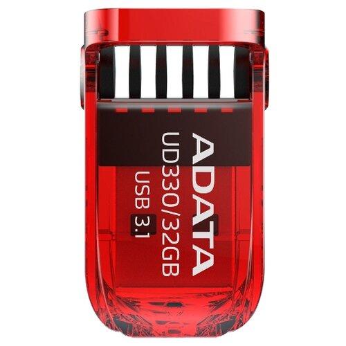 Фото - Флешка ADATA UD330 32GB красный флешка adata ud330 16gb красный