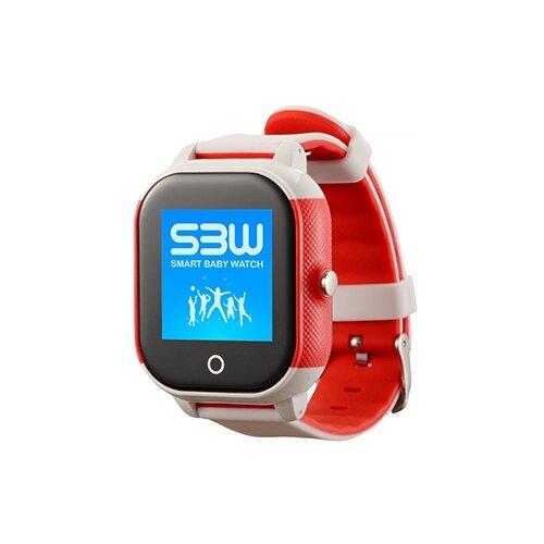 Детские умные часы Smart Baby Watch SBW Water Sport бело-красный часы smart baby watch sbw x бирюзовый