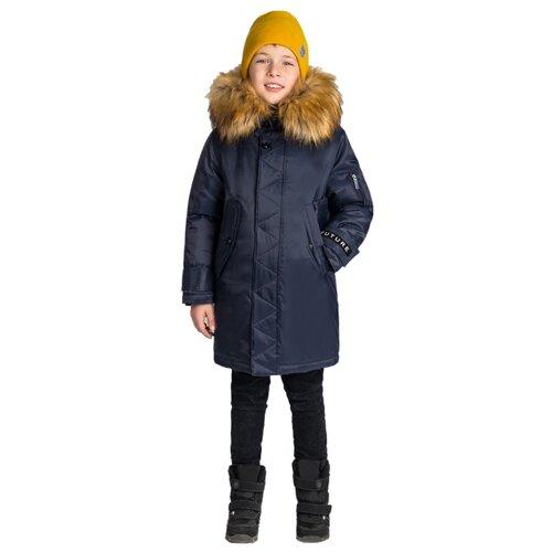 Купить Парка BOOM! размер 104-56-51, синий, Куртки и пуховики