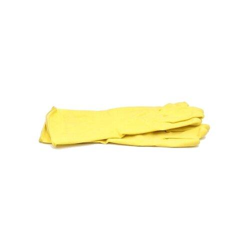 Перчатки Paterra хозяйственные Super прочные, 1 пара, размер M, цвет желтыйПерчатки<br>