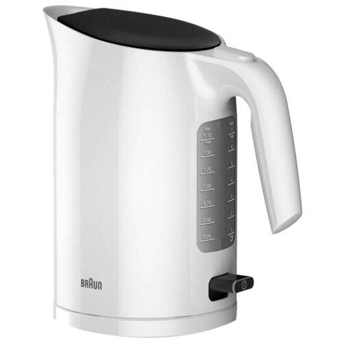 Чайник Braun WK 3100, белый чайник braun wk 500 белый
