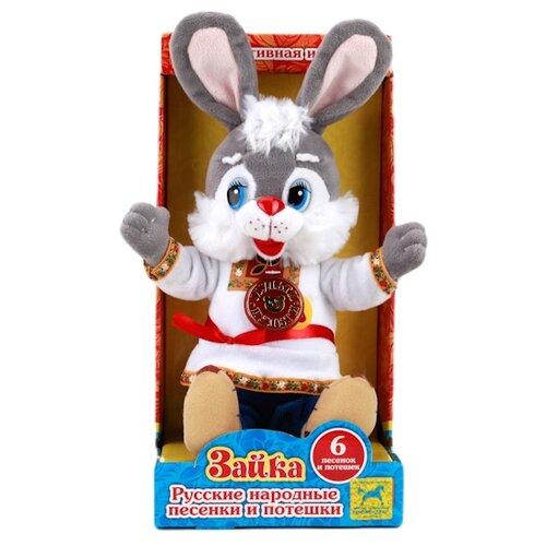Купить Мягкая игрушка Мульти-Пульти Заяц в русской одежде 30 см, Мягкие игрушки