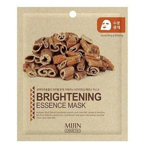 MIJIN Cosmetics тканевая маска Brightening Essence Mask smoothing and glow-boosting осветляющая, 25 гМаски<br>