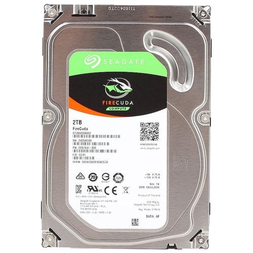 Гибридный диск (SSHD) Seagate FireCuda 2 TB ST2000DX002