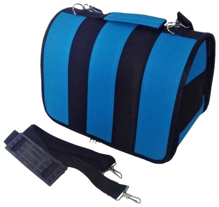Переноска-сумка для кошек и собак LOORI Z8753/Z8715 49х30х35 см розовый