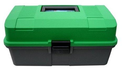 Ящик для рыбалки HELIOS двухполочный 33х20х16см