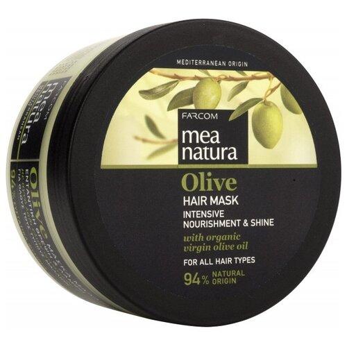 Mea natura Olive Маска для волос оливковая, 250 млМаски и сыворотки<br>