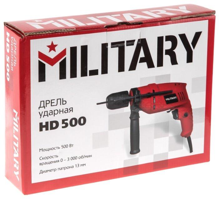 Дрель ударная MILITARY HD500 500 Вт