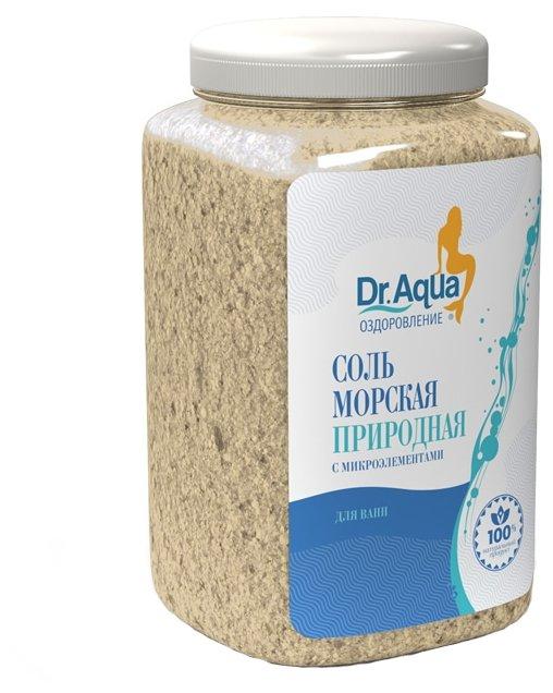 Dr. Aqua Соль для ванн Морская 750 г