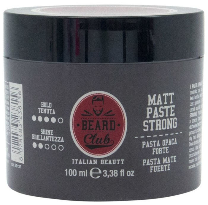 KayPro Паста Beard Club Matt Paste Strong