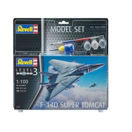 Фото - Сборная модель Revell F-14D Super Tomcat (63950) 1:100 сборная модель revell ah 64 apache 06631 1 100