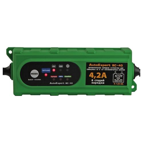 Фото - Зарядное устройство AutoExpert BC-40 зеленый зарядное устройство autoexpert bc 80