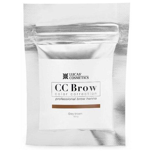 CC Brow Хна для бровей в саше 10 г grey brown хна для бровей cc brow cc brow cc003lwxzk04